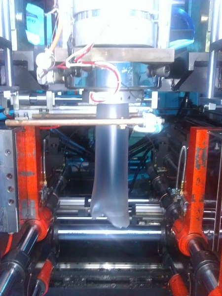 Hydraulic Extrusion Blow Molding Machine 10l Chemical Tank