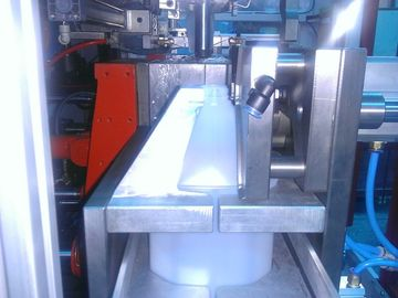 China Milk bottle blpw HDPE Blow Molding Machine with parison control system supplier