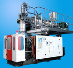 China Adopt accumulator die head extrusion blow molding machine 20L chemical tank factory