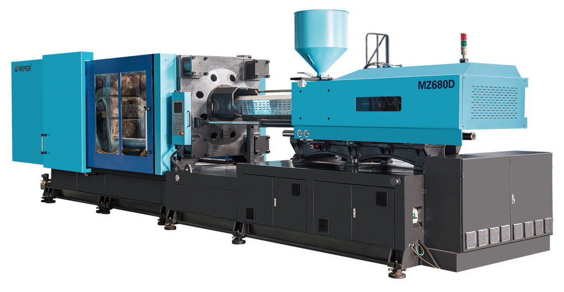 CPU Controller Plastic Injection Molding Machine , Fully Automatic Plastic Injection Molding Equipment
