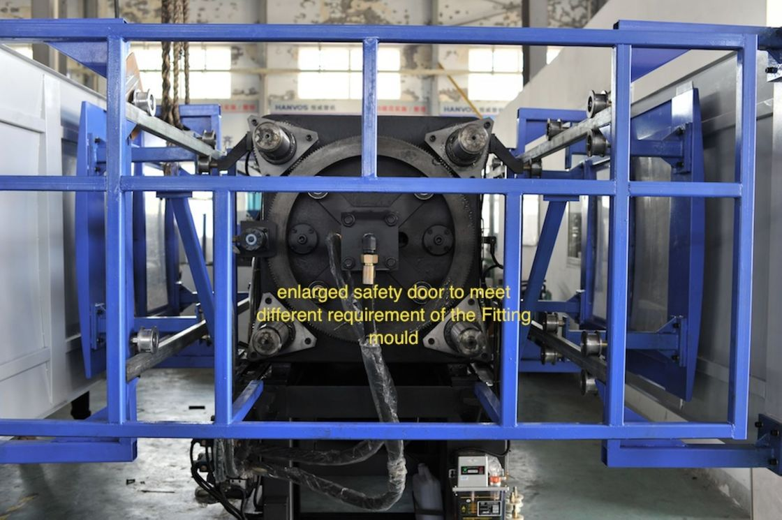 Construction fittings specialized PVC Injection Molding Machine 170Ton